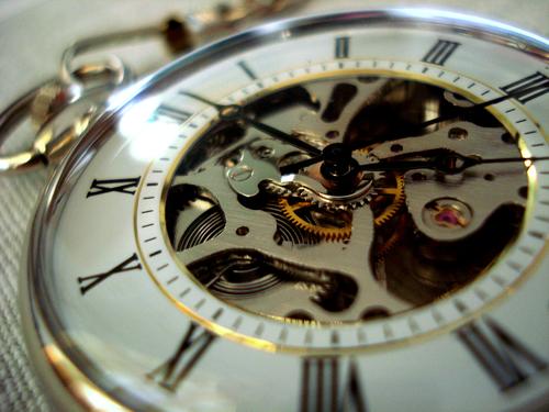 artykuł naukowy zegar