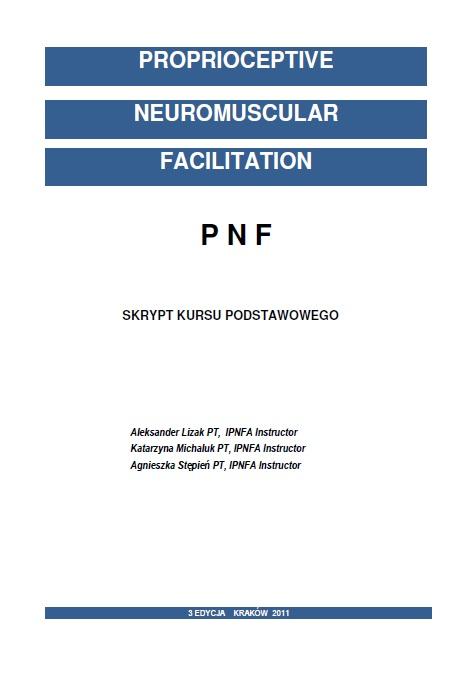 Skrypt kursu podstawowego koncepcji PNF