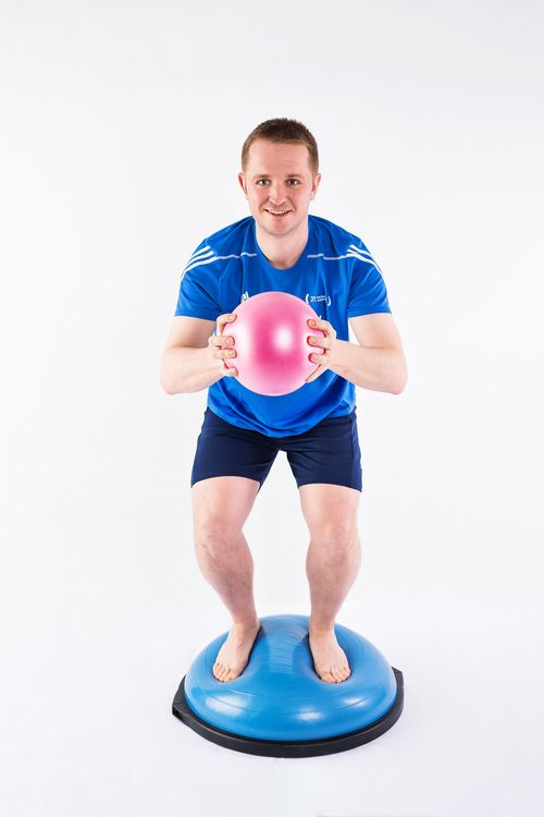 BOSU Trainer Home Edition
